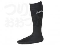 ダイワ ダイワウェットネオソックス(先丸) - NS310R(W) #ブラック LLサイズ