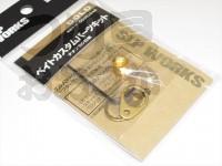 スポーツライフプラネッツ SLPワークス - SLPW ベイトカスタムパーツキット #ゴールド 商品コード 00082044