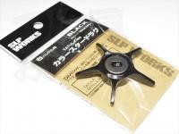 スポーツライフプラネッツ SLPワークス - SLPW カラースタードラグ(タトゥーラ専用) #ブラック 商品コード 00082054 右ハンドル用
