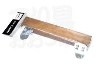 スノーピーク ミニ銀閣横木 - G-075-05 # ブラウン サイズ 4cmX24cm