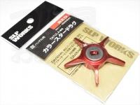 スポーツライフプラネッツ SLPワークス - SLPW カラースタードラグ(タトゥーラ専用) #レッド 商品コード 00082062 左ハンドル用