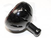 スポーツライフプラネッツ カラーノブ - カラーアルミラウンドノブ #ブラック ハンドルノブL交換可能機種