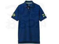 ダイワ 半袖ポロシャツ - DE-7906 #ネイビー/サルファースプリング サイズ:M