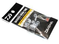 ダイワ バザーズ ワームチューブ - シリコンチューブ # クリアー 内径5mm 肉厚0.5mm 長さ2.5mm