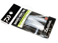 ダイワ バザーズ ワームチューブ - プロ シリコンチューブ #クリアー 内径7mm 肉厚0.5mm 長さ20cm