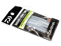 ダイワ バザーズ ワームチューブ - プロ シリコンチューブ #クリアー 内径8mm 肉厚0.5mm 長さ20cm