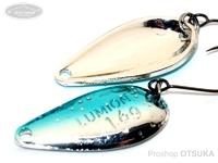 ダイワ プレッソ ルミオン -  1.6g 青銀 1.6g