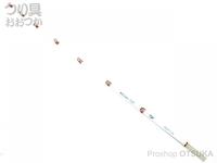 ダイワ クリスティア ワカサギ穂先 -  胴調子 SS サクサスガイド搭載 長さ30.5cm SS 錘負荷0.5-7g