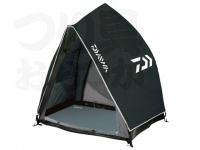 ダイワ PVクイックヘラテント - 3 #ブラック 全幅:約140cm 奥行:約110cm