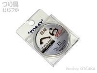 東レ 将鱗スーパープロハリス - 75m巻き # ナチュラル 1号
