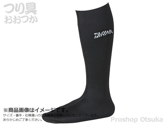ダイワ ダイワウェットネオソックス(先丸) NS310R(W) Lサイズ #ブラック