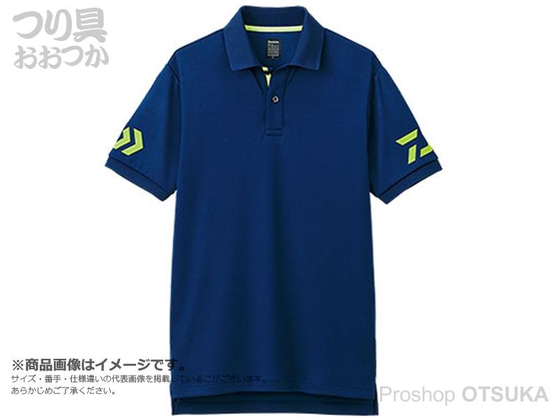 ダイワ 半袖ポロシャツ DE-7906 サイズ:M #ネイビー/サルファースプリング