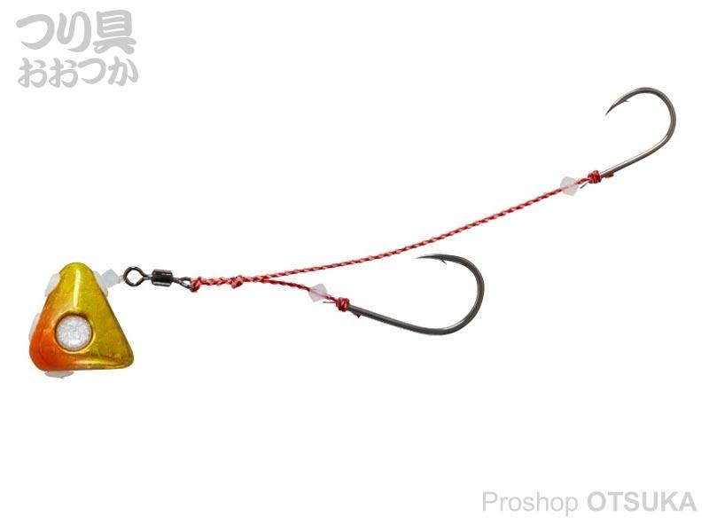 ダイワ 紅牙 紅牙遊動テンヤプラスSS 8号 8号 オレンジ/金