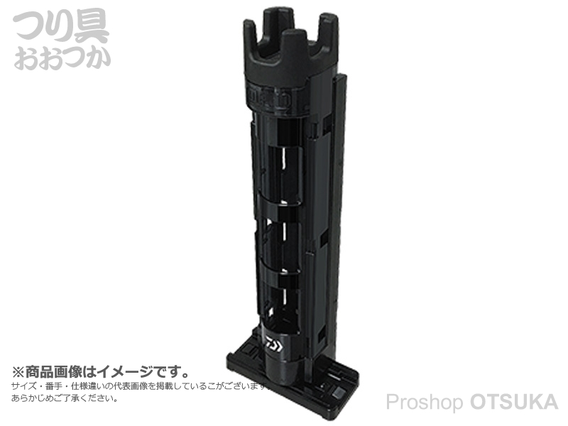 ダイワ ロッドスタンド TB25 スタンド穴径35mm #ブラック