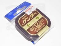 ユニチカ グンター - 10m巻 カモフラージュブラウン 1.2号
