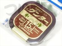 ユニチカ グンター - 10m巻 カモフラージュブラウン 1.5号