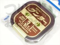 ユニチカ グンター - 10m巻 カモフラージュブラウン 3号