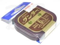 ユニチカ グンター - 10m巻 カモフラージュブラウン 6.0号
