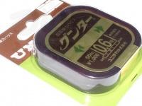 ユニチカ グンター - 50m巻 カモフラージュブラウン 0.6号