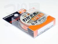 ユニチカ ワカサギPE II - 30m巻 #ライトオレンジ 0.3号