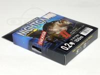 ユニチカ ナイトゲームメバル PE II - ナイトゲーム メバルPE II #蛍光イエロー・パープル 0.2号 150m