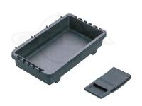 明邦化学 オプションパーツ - トレイBM-S #ブラック 175×105×40mm