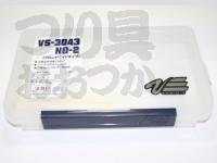 明邦化学 バーサス ケース - VS-3043ND-2 #クリアー 356×230×50mm