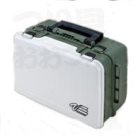 明邦化学 バーサス タックルボックス - VS3078 #マットグリーン 430×295×186mm