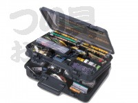 明邦化学 バーサス タックルボックス - バーサス 3070 #スモークBK 380×270×120mm