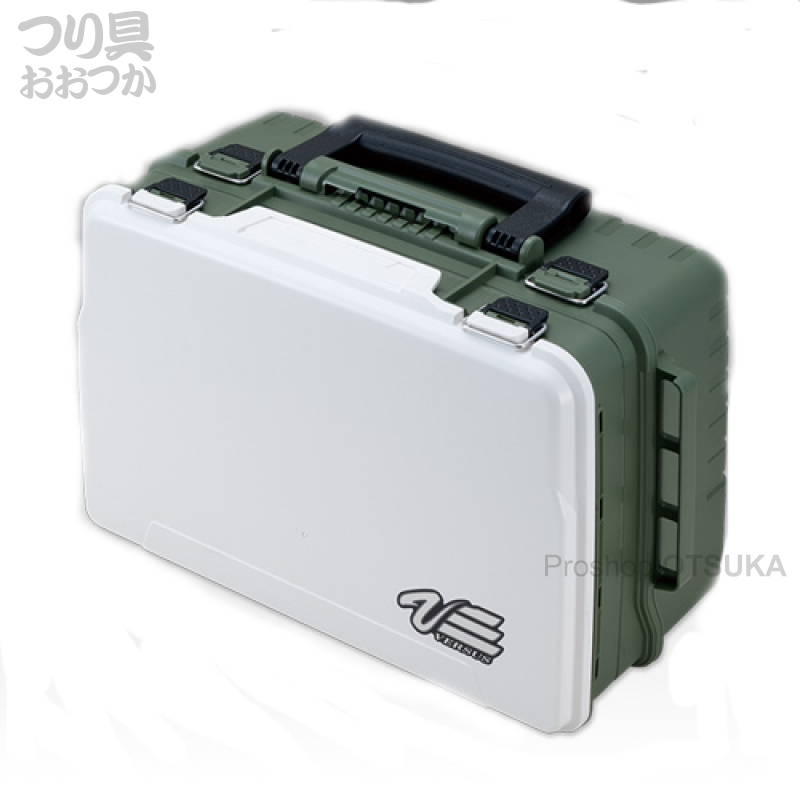 明邦化学 バーサス タックルボックス VS3078 430×295×186mm #マットグリーン