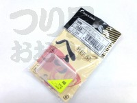 ナカジマ シリコン管付ゴムカン - M #クリア 内径1.2mm