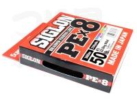 サンライン シグロン -  PE×8 #5色(1色10m) 3.0号 50lb 300m
