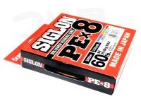 サンライン シグロン -  PE×8 #5色(1色10m) 4.0号 60lb 300m