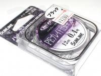 サンライン PEブレイド仕掛糸 -  #ブラック 0.4号