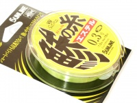 サンライン ソルティメイト 鯵の糸エステル - 240m単品 フラッシュイエロー 0.25号(1.25lb) 120m巻きマーキング