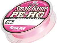 サンライン スモールゲームPE-HG - 150m #サクラピンク 0.2号 3lb