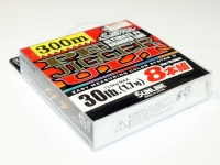 サンライン ソルティメイト PEジガーULT - 8本組 #10m5色 30lb(1.7号) 300m