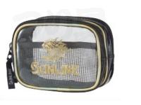 サンライン フィッシングポーチ ダブル - SFP-0154 #ゴールド 130×90×50mm