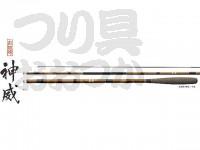 シマノ 朱紋峰 神威 - 9尺 - 全長2.7mX自重75gX継数3本