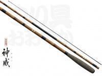 シマノ 朱紋峰 神威 - 12尺 - 全長3.6mX自重80gX継数4本