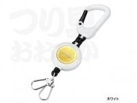 シマノ カラビナリール - PI-031N #ホワイト 約70cm