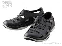 シマノ イヴェアー マリンフィッシングシューズ - FS-091I # ブラック 25.0cm