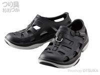 シマノ イヴェアー マリンフィッシングシューズ - FS-091I # ブラック 27.0cm