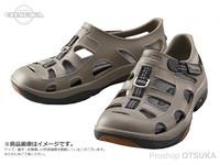シマノ イヴェアー マリンフィッシングシューズ - FS-091I #カーキ 25cm