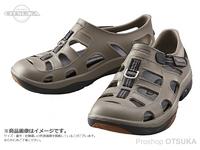 シマノ イヴェアー マリンフィッシングシューズ - FS-091I #カーキ 27cm