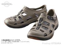 シマノ イヴェアー マリンフィッシングシューズ - FS-091I #カーキ 28cm
