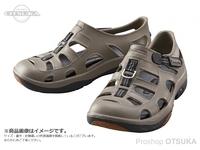 シマノ イヴェアー マリンフィッシングシューズ - FS-091I #カーキ 29cm