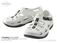 シマノ イヴェアー マリンフィッシングシューズ - FS-091I # ホワイト 25cm