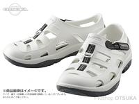 シマノ イヴェアー マリンフィッシングシューズ - FS-091I # ホワイト 26cm