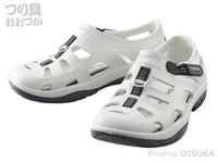 シマノ イヴェアー マリンフィッシングシューズ - FS-091I # ホワイト US10 28cm